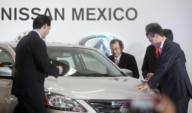 Diversas intervenciones durante Inauguración del Nuevo Complejo de Manufactura Nissan