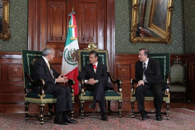 Diversas Intervenciones durante la presentación de Cartas Credenciales al Presidente de los Estados Unidos Mexicanos
