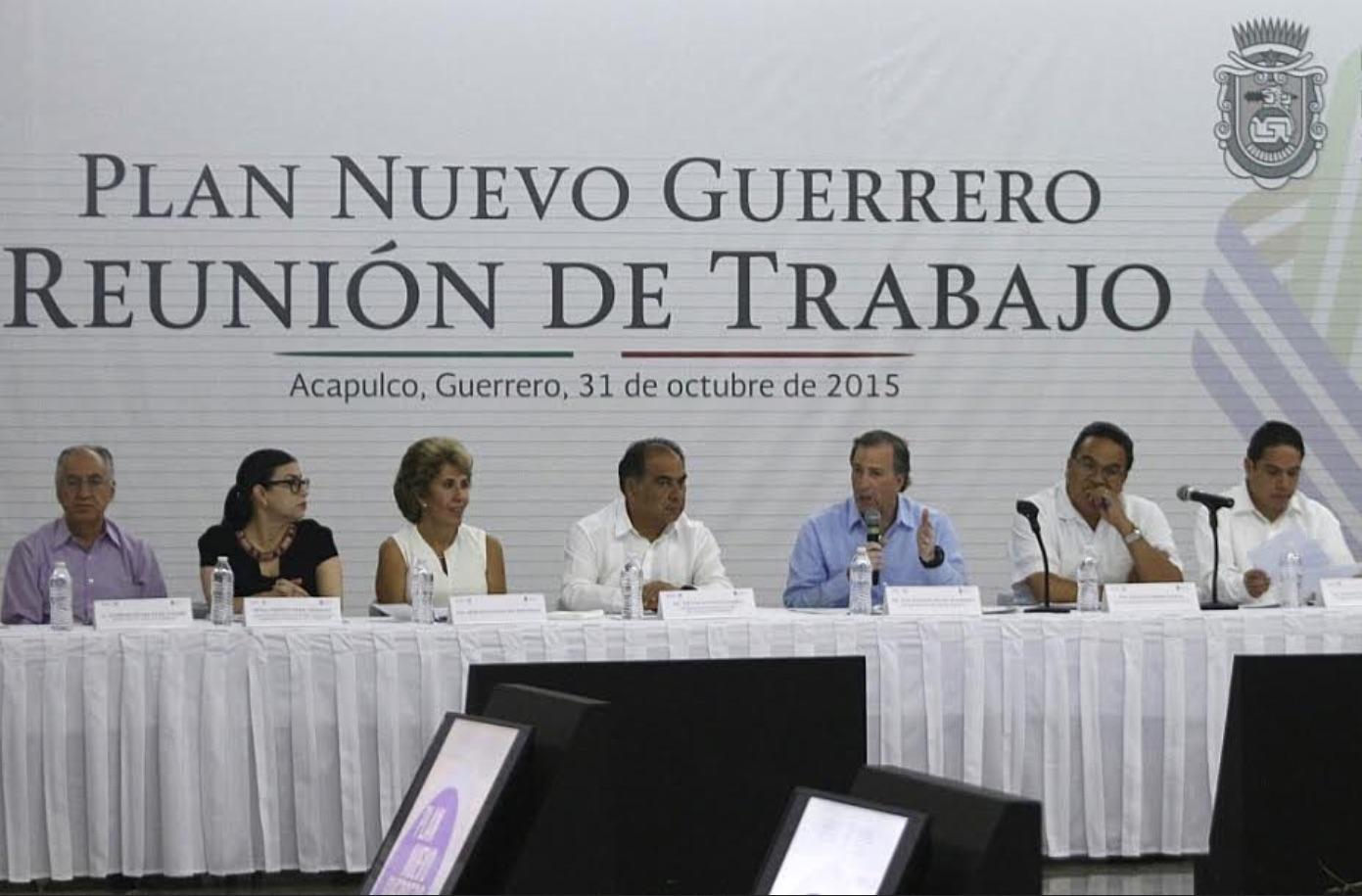 Reunión de trabajo Plan Nuevo Guerrero