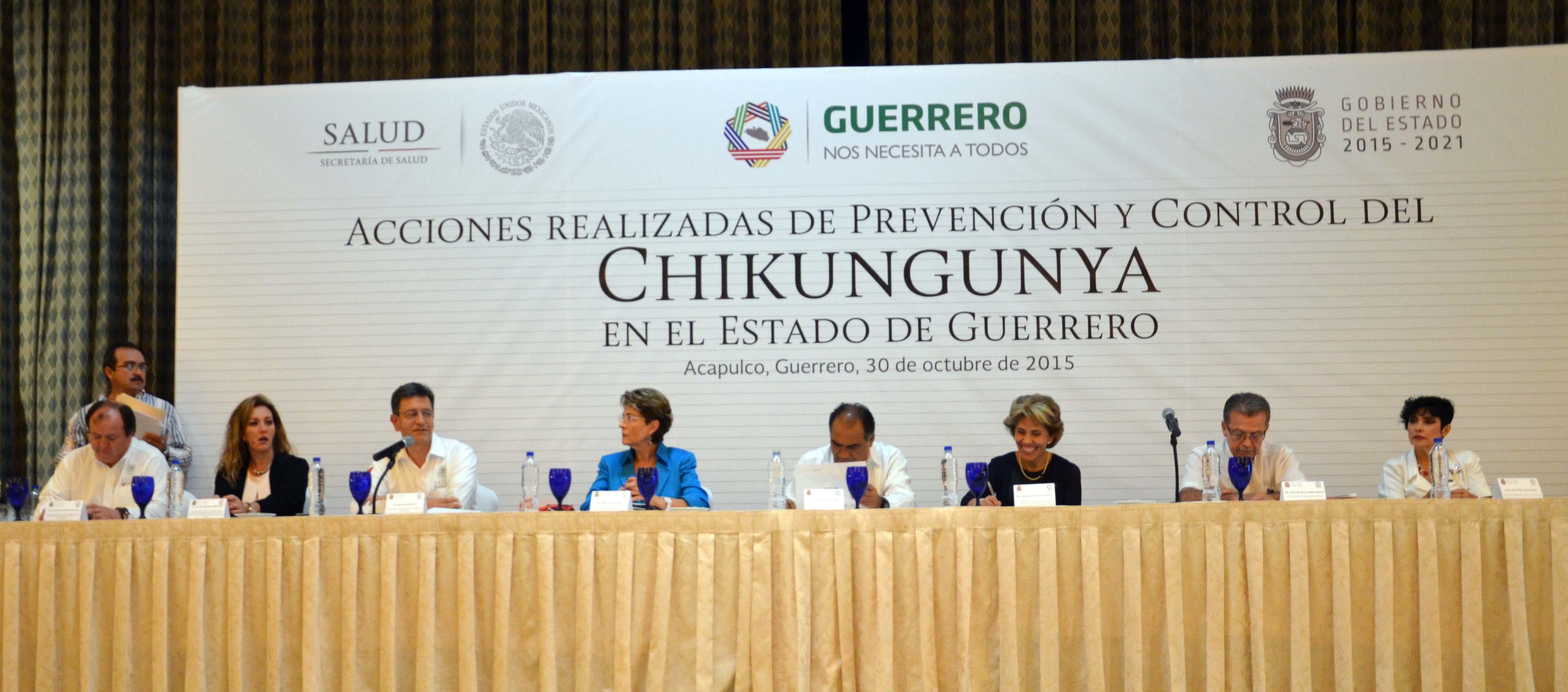 Mercedes Juan felicitó al gobernador Héctor Astudillo por la designación del doctor Carlos de la Peña como Secretario de Salud.