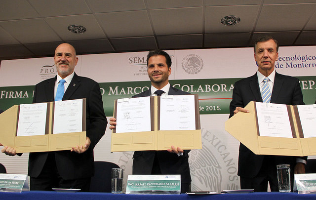 Firman convenio Profepa y Tecnologíco de Monterrey a favor del cuidado y justicia ambiental