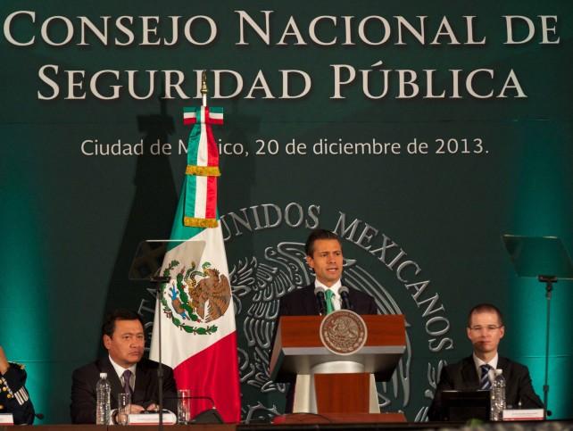 En materia de seguridad no puede haber colores partidistas que nos dividan; todos formamos un mismo frente: Enrique Peña Nieto