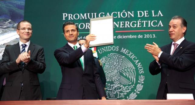 La Reforma Energética será factor de crecimiento que se sienta y se note en la vida cotidiana de los mexicanos: Presidente Enrique Peña Nieto