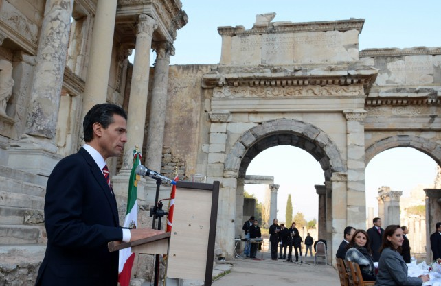 México y Turquía avanzan en la nueva etapa de su relación: Enrique Peña Nieto