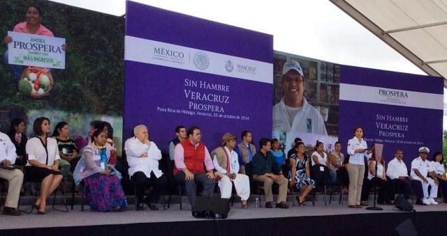 Programa Sin Hambre en Veracruz