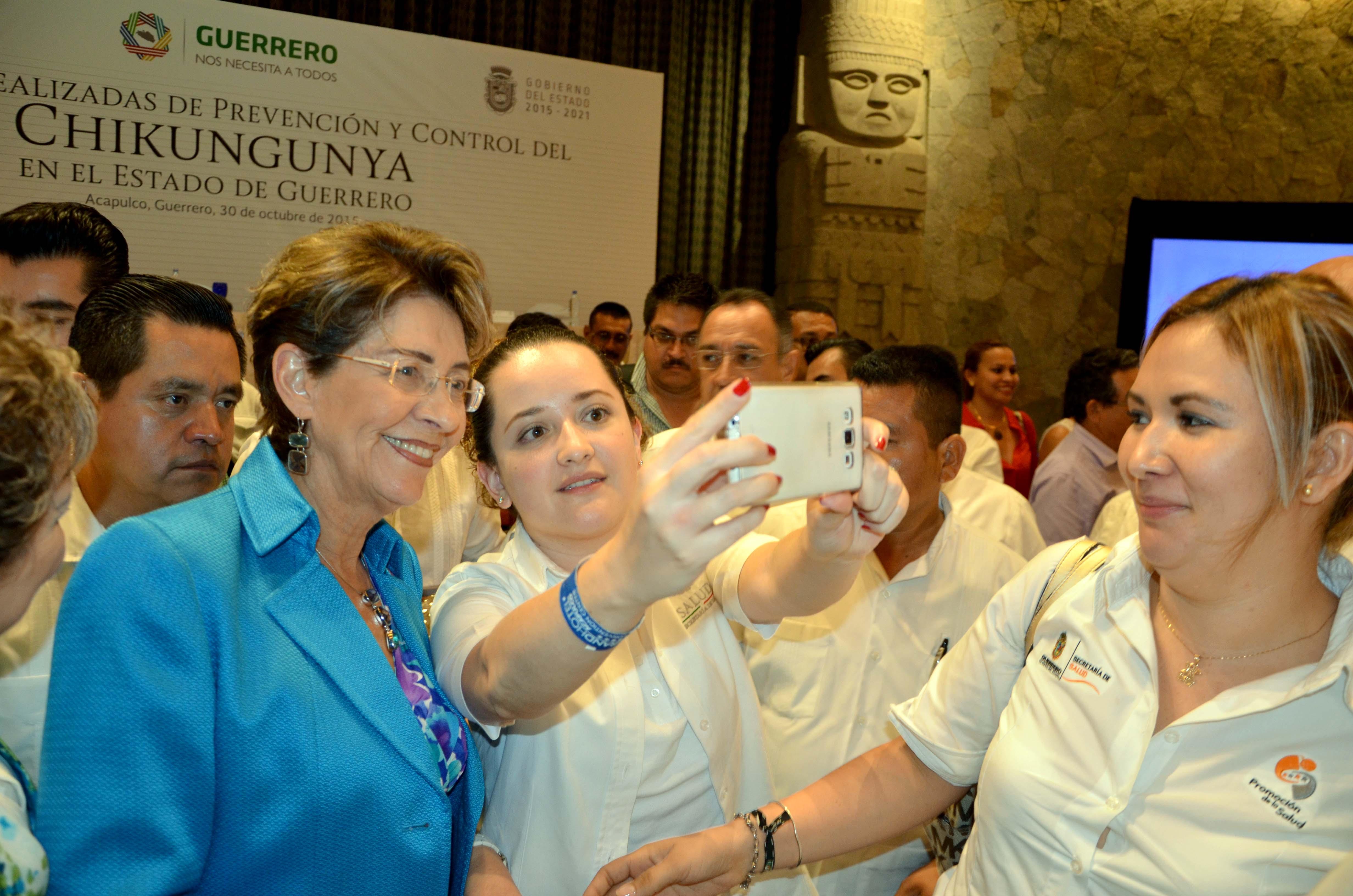 La Secretaria de salud, Mercedes Juan, instó a la comunidad a participar en las tareas de prevención.