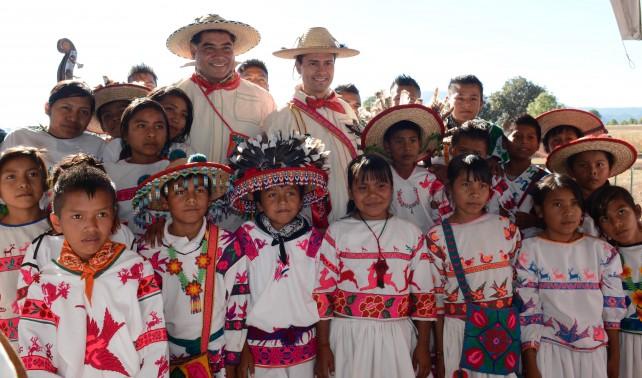 Inaugura el Presidente Peña Nieto la carretera Mezquital-Huazamota, en Durango