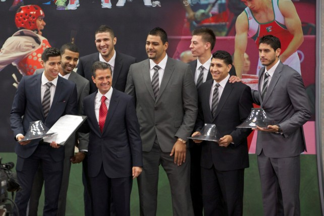 El Gobierno de la República está determinado a convertir a México en una potencia deportiva: EPN