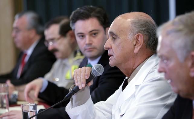 Exitosa, la cirugía practicada hoy al Presidente de La República: Aurelio Nuño Mayer
