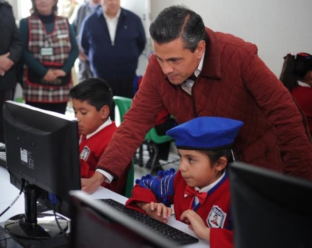 El Gobierno de la República se empeña en alcanzar una educación de mayor calidad en el país: EPN