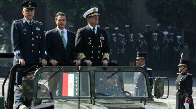 Expresa el Presidente Enrique Peña Nieto su reconocimiento al valor, lealtad y patriorismo del Estado Mayor Presidencial