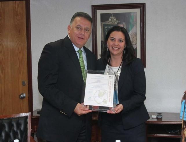 Recibe la Presidencia de la República certificación de Igualdad Laboral entre Hombres y Mujeres