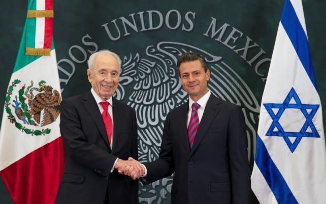 Coinciden México e Israel en que una mayor cooperación entre ambas naciones permitirá incrementar los beneficios para sus pueblos