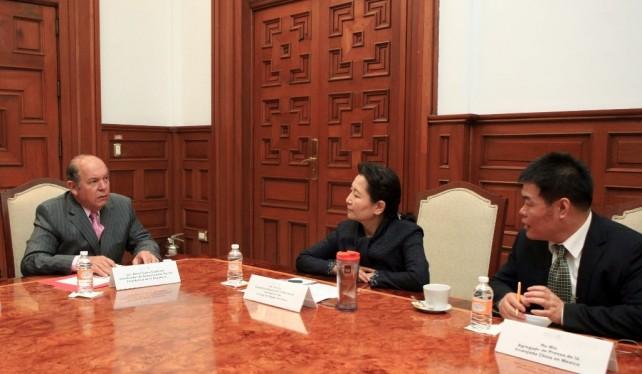 Establecen los Gobiernos de México y China una agenda bilateral en materia de comunicación social