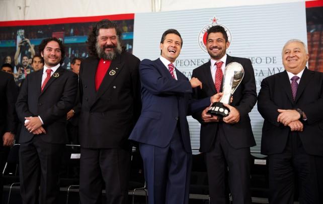 A jugársela con México, convoca El Presidente Enrique Peña Nieto