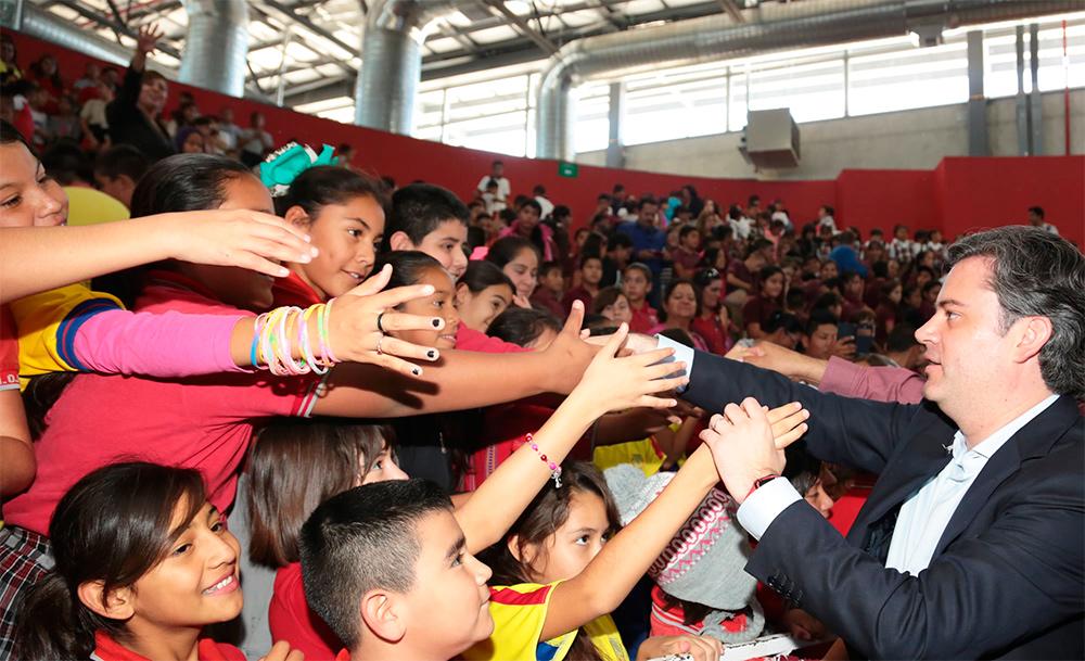 Educación digna inicia con escuelas de calidad: Aurelio Nuño Mayer