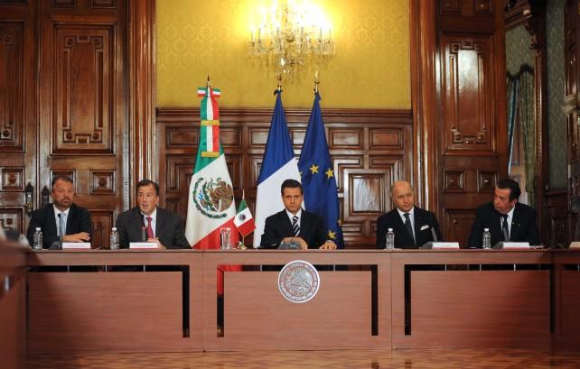 Encabezó El Presidente Enrique Peña Nieto la instalación del Consejo Estratégico Franco-Mexicano