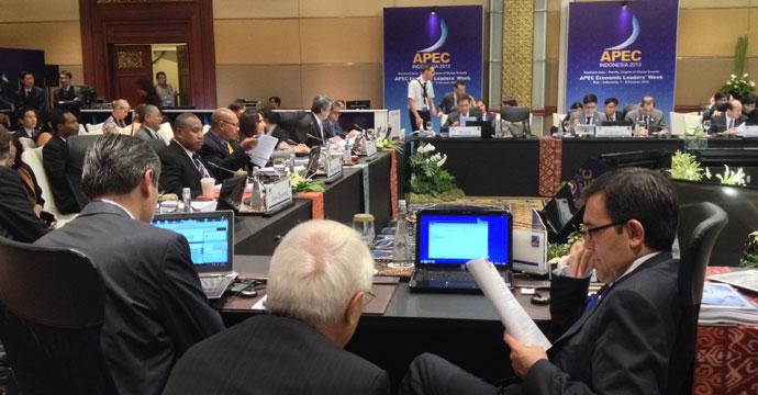 Concluye la participación del Secretario de Economía, Ildefonso Guajardo en las reuniones ministeriales de APEC 2013, en Bali, Indonesia