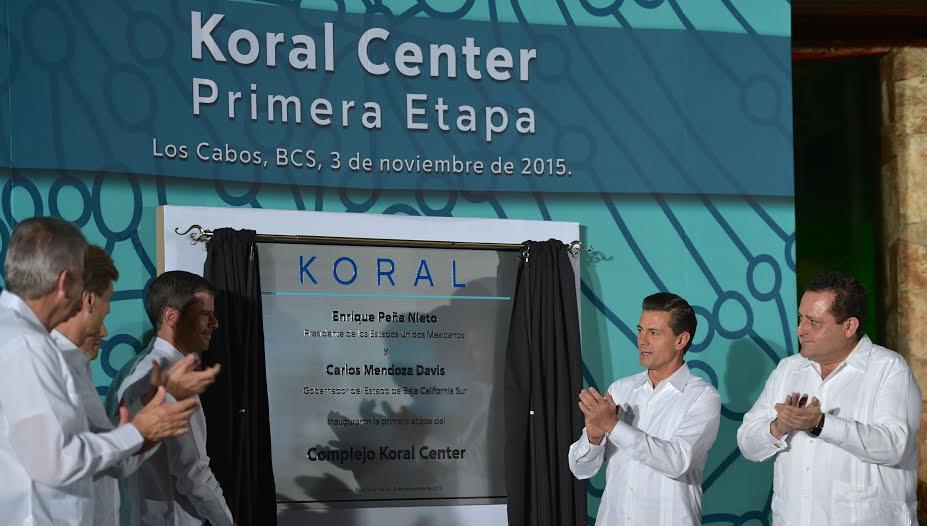 El Primer Mandatario inauguró la primera etapa de un proyecto orientado a impulsar el turismo médico en Baja California Sur, como una de las vertientes y oportunidades que México está proyectando.