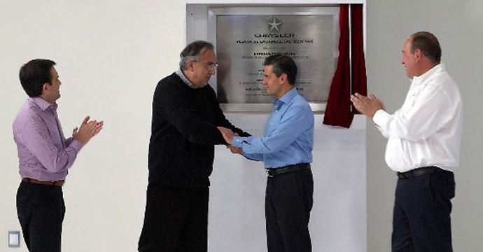 Inaugura Chrysler nueva planta en Saltillo, Coahuila