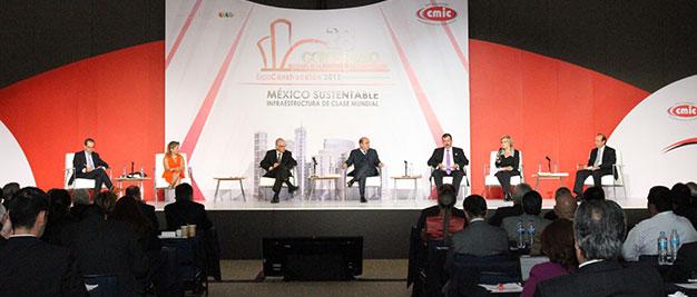 El secretario Jesús Murillo Karam participó en el 28 Congreso Mexicano de la Industria de la Construcción