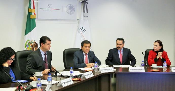 El Secretario de Economía presidió la 2ª Sesión Ordinaria de la Comisión Intersecretarial de Compras y Obras de la APF