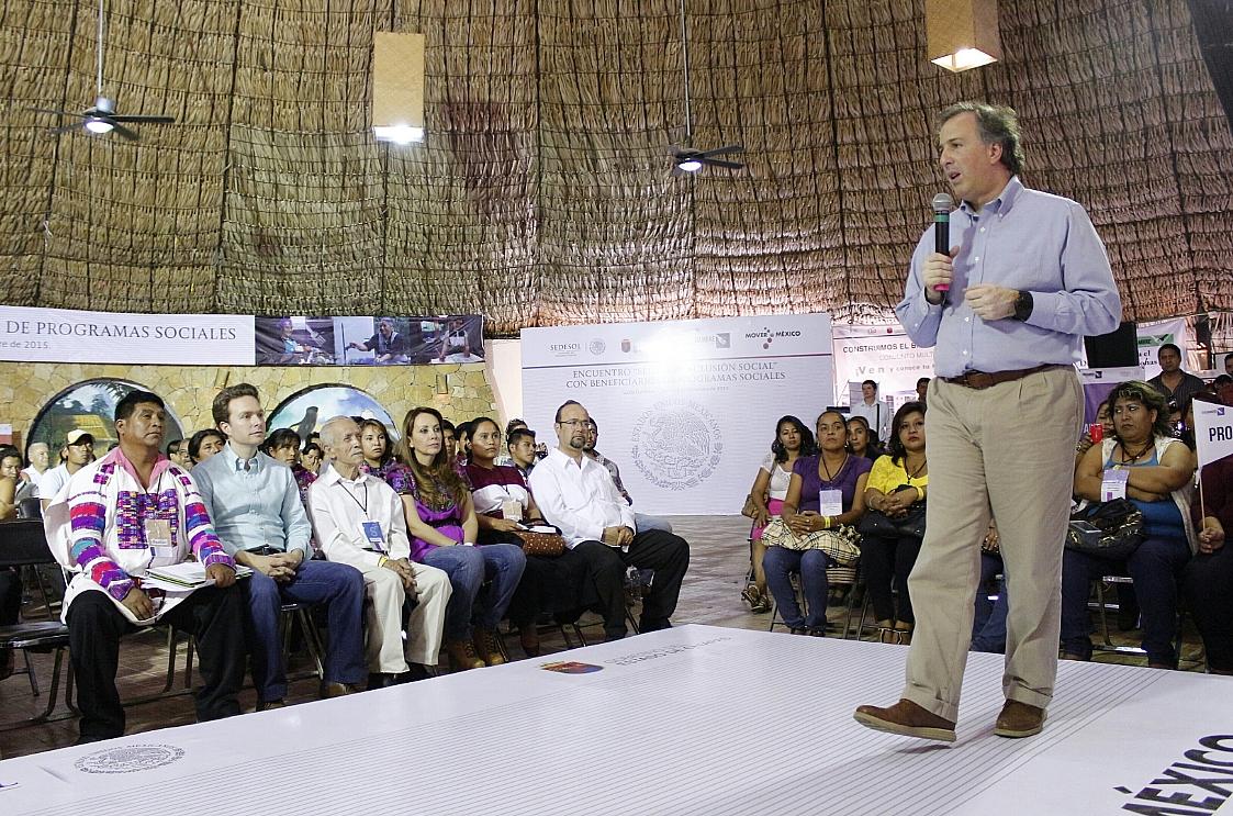 El Secretario Meade Kuribreña dijo que la prioridad central de la política social es empoderar a los ciudadanos para que puedan ejercer a plenitud sus derechos