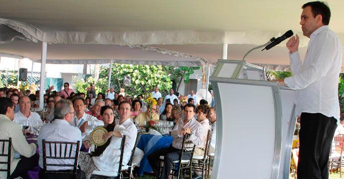 Asiste el Secretario Ildefonso Guajardo al Encuentro Empresarial Acapulco 2013 de la COPARMEX