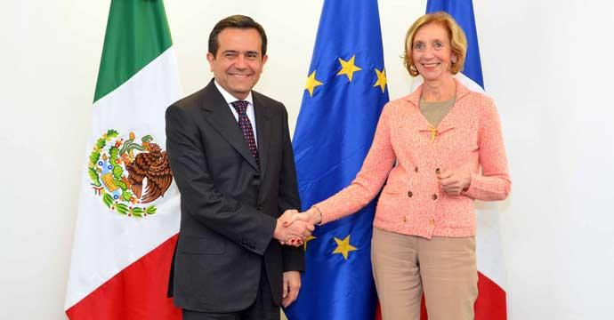 Estrechan relaciones México y Francia