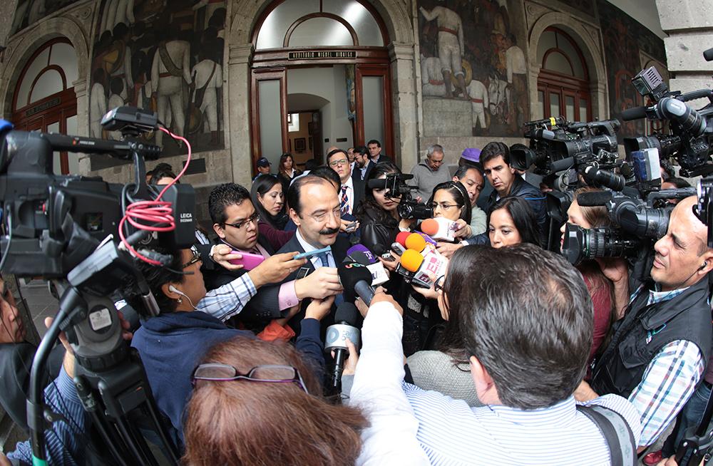 Entrevista al subsecretario de Educación Básica, Javier Treviño Cantú