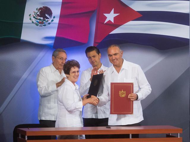 Firman SAGARPA y Ministerio de la Industria Alimentaria de Cuba Programa Específico de Cooperación en Pesca y Acuacultura.