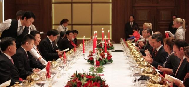 Se reúnen los presidentes de México, Enrique Peña Nieto y de China, Xi Jinping, por tercera ocasión