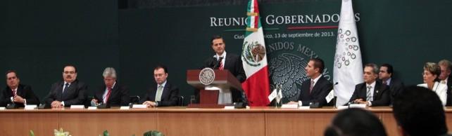 Anuncia el Presidente Peña Nieto un programa para la aceleración del crecimiento económico
