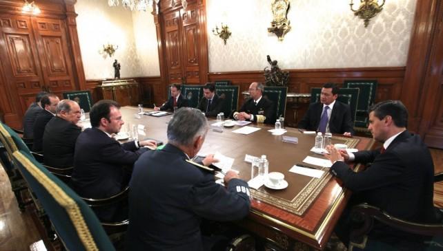 El Presidente Enrique Peña Nieto está pendiente de las acciones para atender la contingencia climatológica en distintas entidades del país
