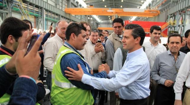 Los eventos climáticos no van a frenar el desarrollo del país: Enrique Peña Nieto