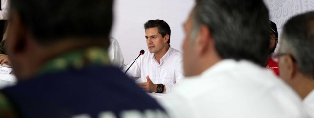 Esta contingencia es para el gobierno de la república una condición prioritaria y merece la mayor atención: Enrique Peña Nieto