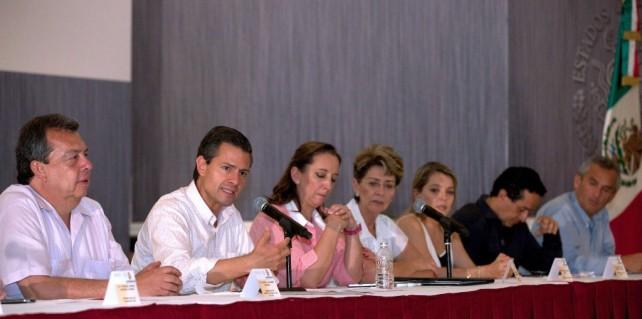 Acapulco está de pie y su oferta turística está intacta: Enrique Peña Nieto