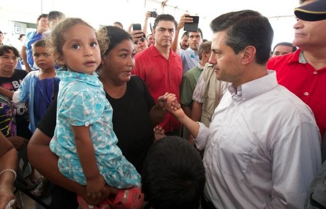 Ordena el Presidente Peña Nieto elaborar el programa de Reconstrucción Nacional