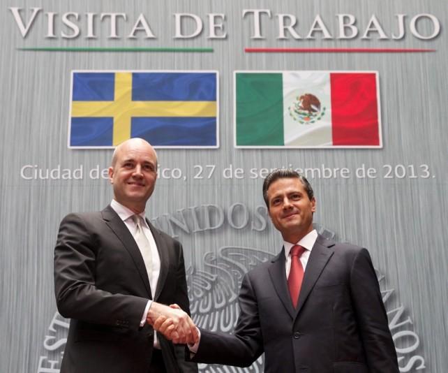 Se refuerza el diálogo político y se impulsa la relación entre México y Suecia