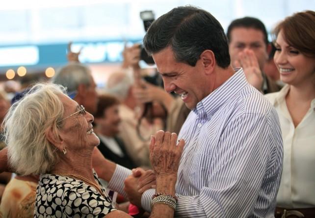 Estoy decidido a impulsar la transformación de México: Enrique Peña Nieto