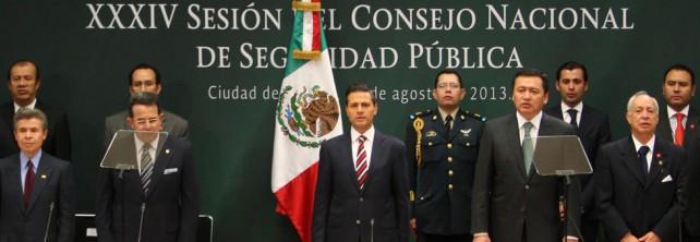 Una mayor coordinación institucional nos permitirá avanzar hacia el México en paz que demandan todos los mexicanos: Enrique Peña Nieto