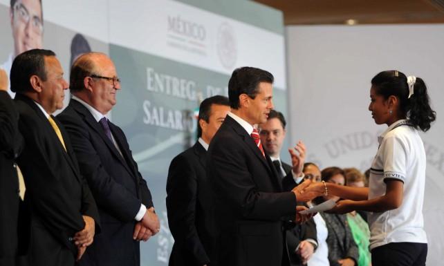 El Pacto Por México permitirá que el país avance hacia mejores condiciones: Enrique Peña Nieto