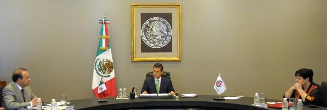 EPN recibe a la Confederación Sindical Internacional, que representa a 175 millones de trabajadores