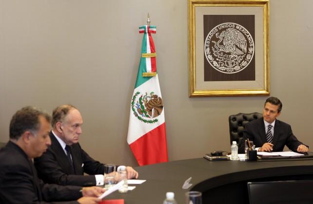 Se reúne el Presidente Enrique Peña Nieto con la Presidencia del Congreso Judío Mundial