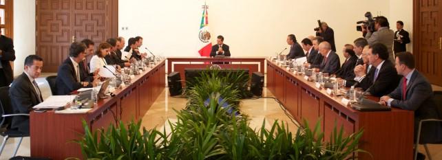 El Presidente Enrique Peña Nieto instaló  el Consejo Consultivo Empresarial para el Crecimiento Económico de México