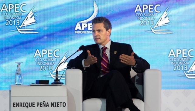 México proyecta el deseo de cambio y de romper con paradigmas que hoy ya no funcionan: Enrique Peña Nieto