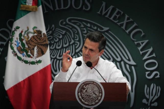 Anuncia el Presidente Peña Nieto Programa de Apoyo a las MiPyMES de estados afectados por lluvias