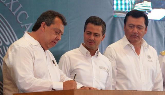 Reafirma Presidente Peña Nieto compromiso del Gobierno de la República de apoyar a las entidades afectadas por lluvias