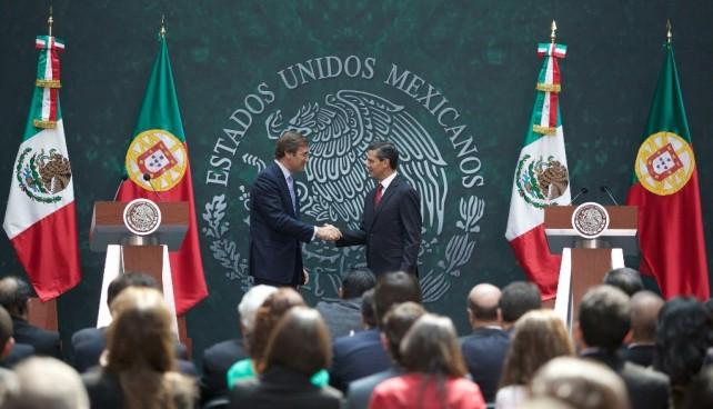 Acuerdan México y Portugal el fortalecimiento de su relación bilateral y multilateral
