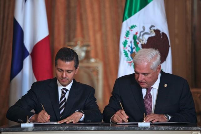Acuerdan México y Panamá acelerar los trabajos para alcanzar un acuerdo de Libre Comercio